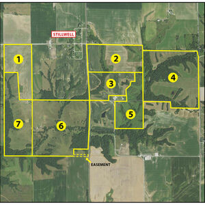 Tracts 1-7 Aerial Map
